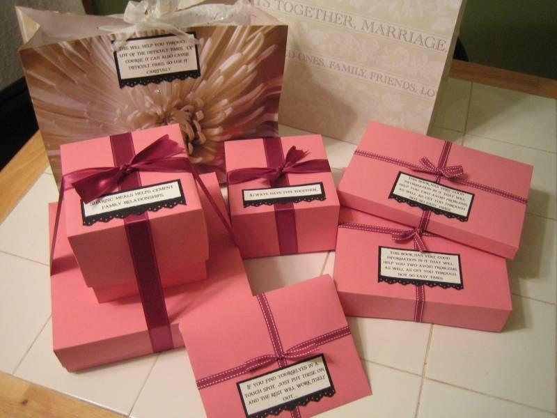 Progressive Bridal Shower Gift Wedding Season Pinterest Bridal