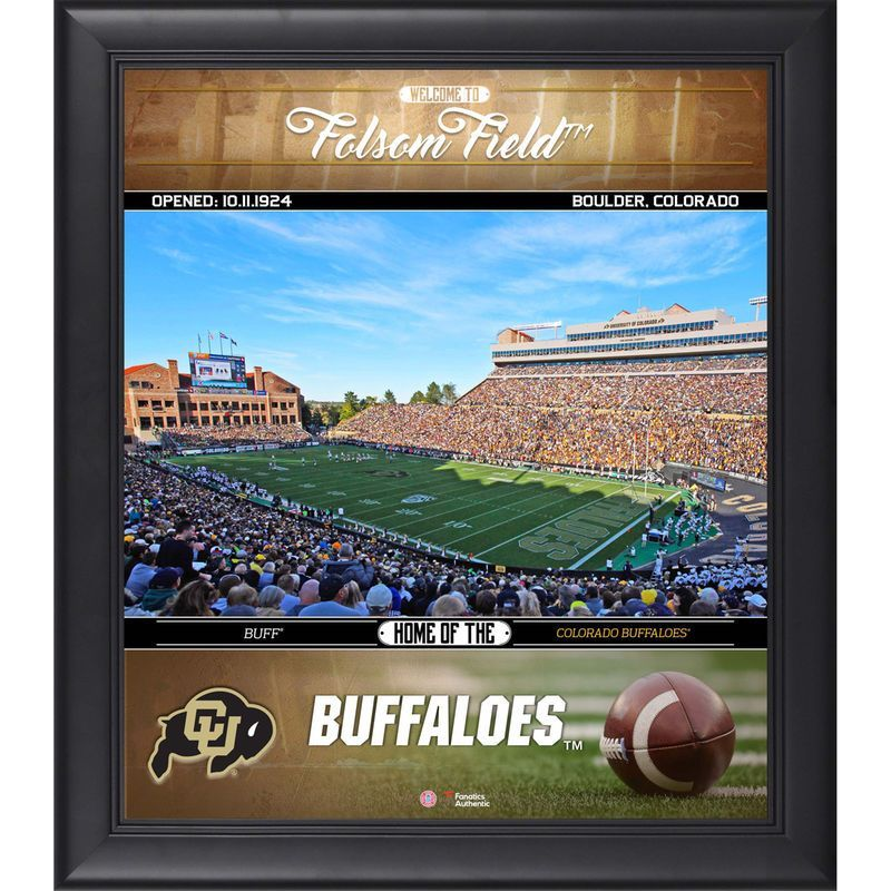 """Colorado Buffaloes Fanatics Authentic Framed 15"""" x 17"""" Welcome Home Collage"""