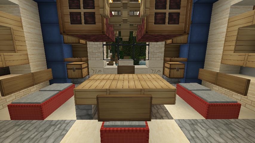 Minecraft Furniture   Bedroom   Ultra Contemporary Bed Design | Minecraft  Interior/outdoors Decore | Pinterest | Minecraft Furniture, Minecraft  Bedroom And ...