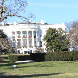 Casa Blanca en Navidad