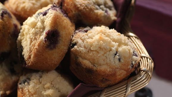 Warm muffins with tender blueberries are the perfect treat anytime. The sweet…
