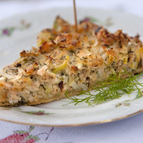 Quiche de salmn ahumado en caliente recetas sabrosas pinterest quiche de salmn ahumado en caliente forumfinder Images