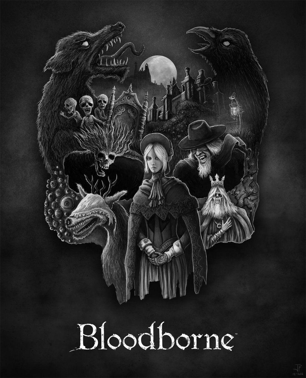 Bloodborne Grant Us Eyes By Jack Burton25 Deviantart Com On