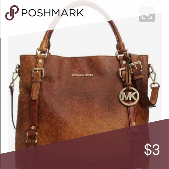 ISO Michael Kors handbag Came across it on Pinterest and was wondering if anyone knew it's name?? Michael Kors Bags