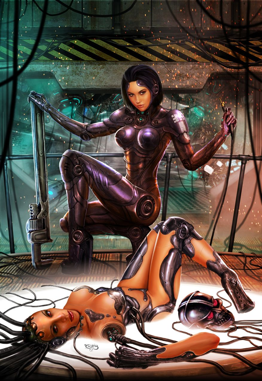 Naked women science fiction #2
