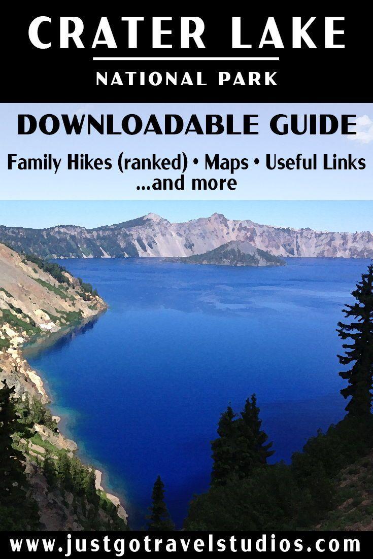 Crater Lake National Park Itinerary