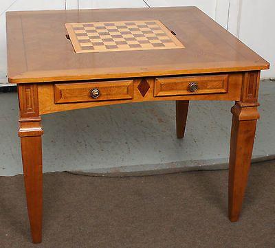 High #quality Alexander Julian Games Chess Backgammon Dining Custom Alexander Julian Dining Room Furniture Design Inspiration