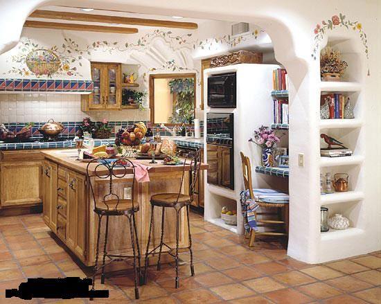 مطابخ ريفيه روعه صور منتدى عالم الأسرة والمجتمع Kitchen Decor Apartment House Design Kitchen Small Kitchen Decor