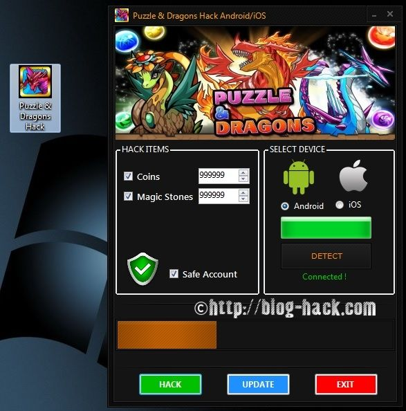 Puzzle & Dragons Hack Coins and Magic Stones Android apk mod iOS iap