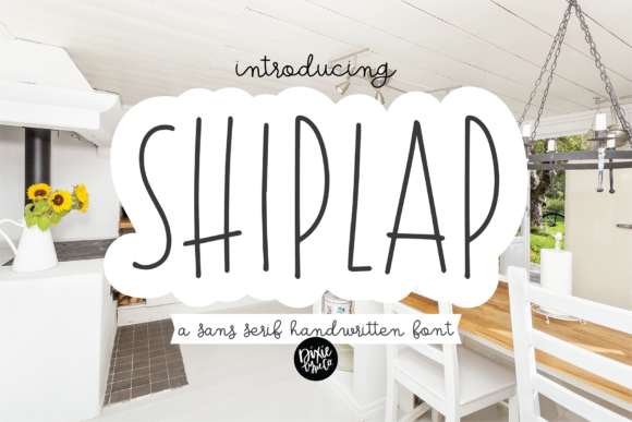 Download Shiplap (Font) by dixietypeco · Creative Fabrica in 2020 ...