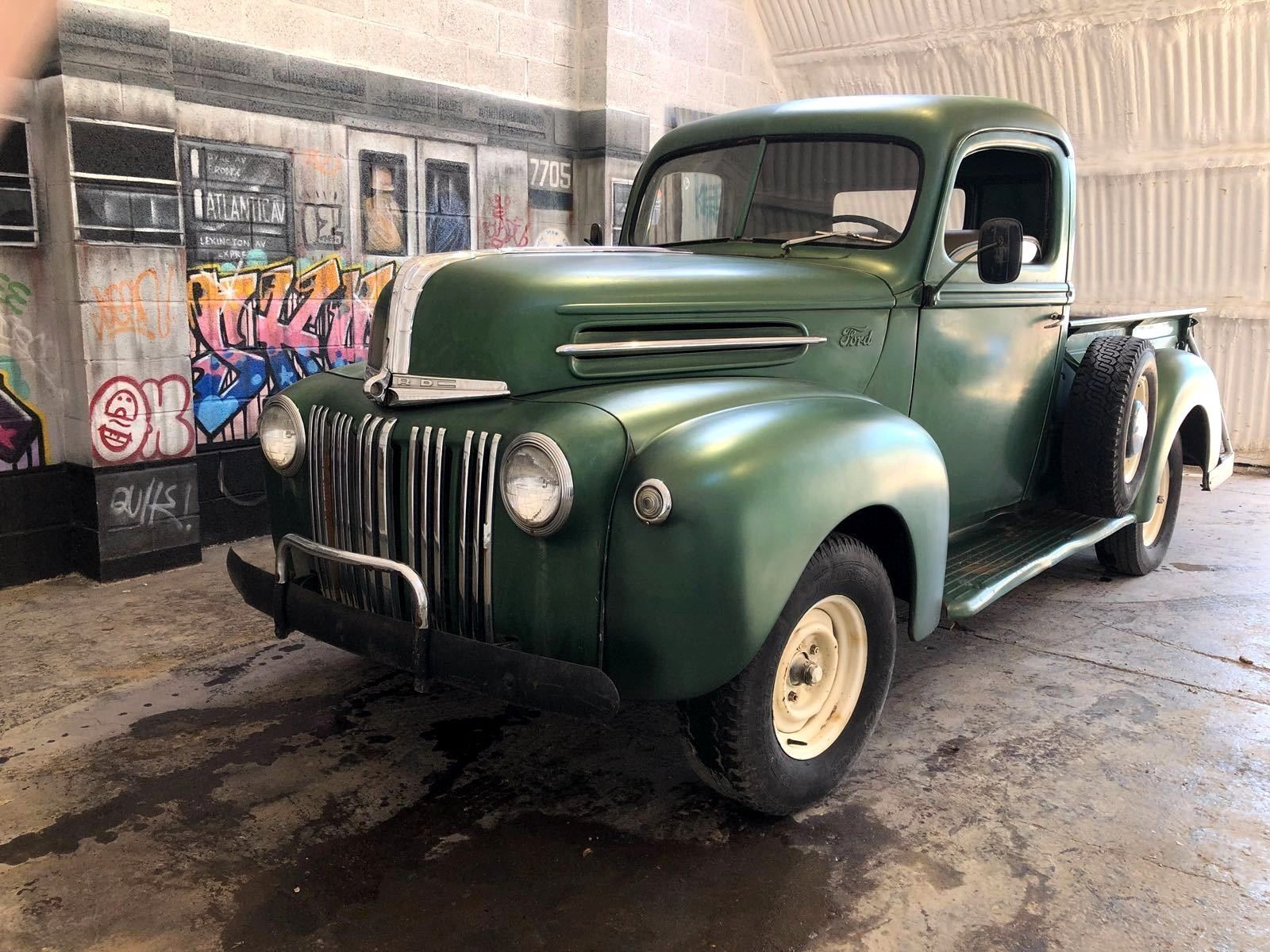 Ford F150 Pickup 1946 Original Engine New In From California 1941 F1 Truck Ebay