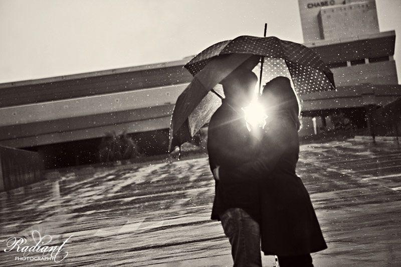 Rainy light of love.