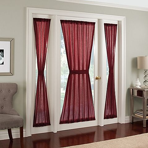 Invalid Url French Door Curtains Sidelight Curtains Panel Curtains