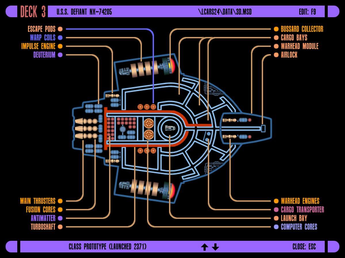 USS Defiant Deck plan schematics #ussdefiant #startrek #michaelokuda on runabout schematics, uss reliant schematics, deep space nine schematics, uss titan schematics, uss diligent, millennium falcon schematics, uss equinox, uss voyager, star trek ship schematics, uss excalibur, uss reliant deck plans, uss yamaguchi, uss lst schematic, uss vengeance star trek, uss valiant schematics, uss prometheus, uss enterprise, space station schematics, uss excelsior, delta flyer schematics,