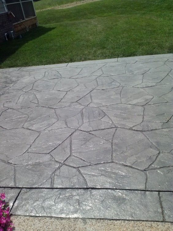 Stamped Concrete Patterns Flagstone   Google Search