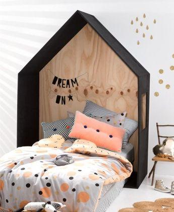 Housse de couette pois via cotton on chambre d 39 enfants kid 39 s room pinterest room and - Housse de couette all black ...