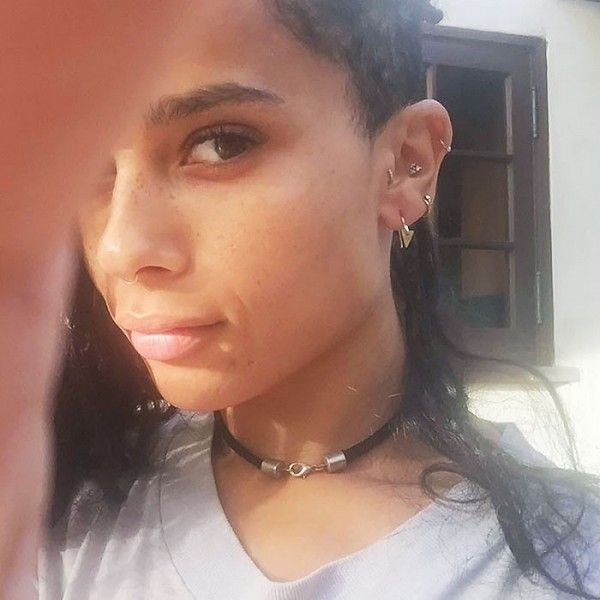 Zoe Kravitz Piercings: Where Fashion Girls Go To Step Up Their Earring Game