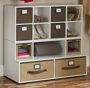 Superbe Win The Floor Organizer And Fabric Bins From Closetmaid Ends 4/24 Would  LOVE This For The New Home!!