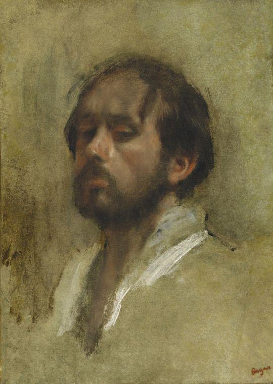 Edgar Degas Self-Portrait c.1862