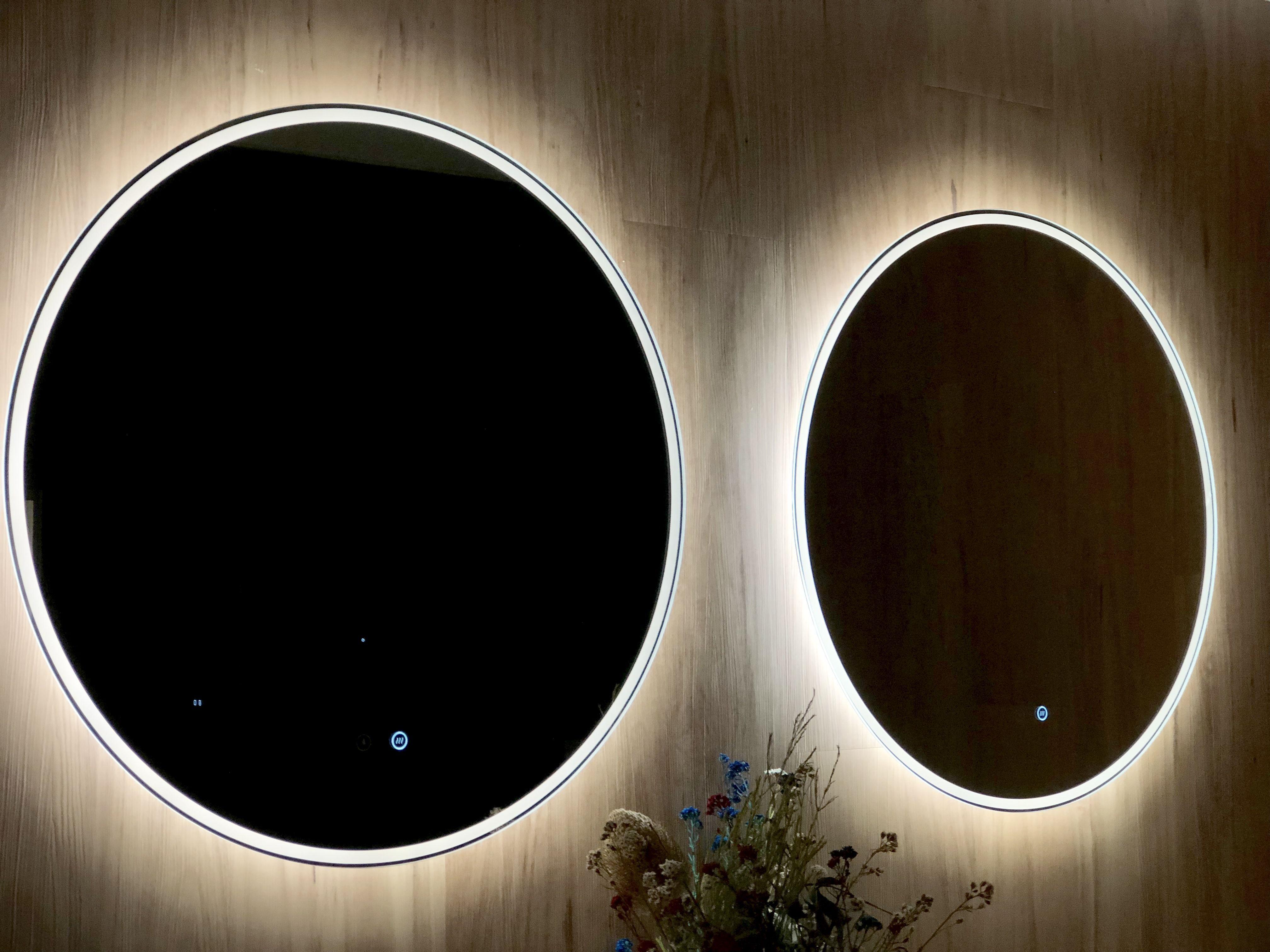 Backlit Mirror Remer Round A Mirror Circle Mirror Sphere Mirror Led Mirror Demister Pad Demister Mirror Smart Led Mirror Backlit Mirror Bathroom Mirror