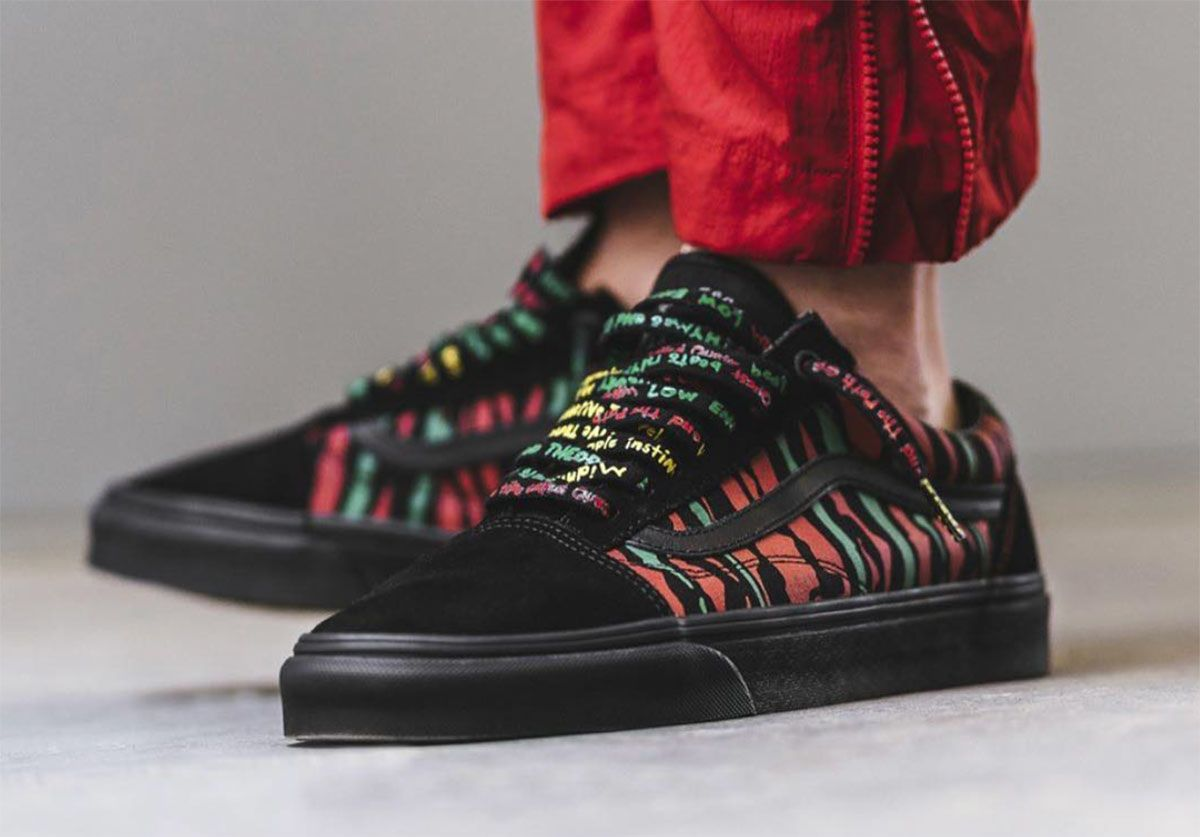 69919b5555 A Tribe Called Quest Midnight Marauders Vans Old Skool is easily the ...