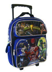 Power Rangers Personalised Customised Kids School Nursery Bag Backpack