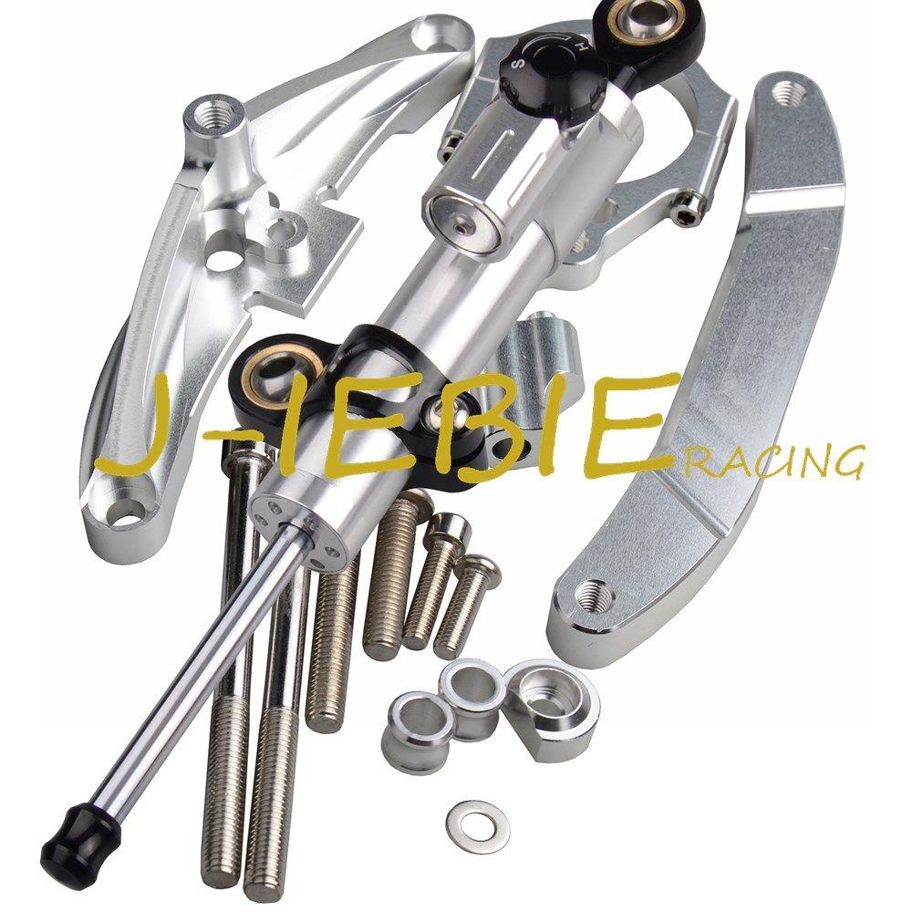 For Yamaha FZ1 FAZER 2006-2015 Steering Damper Stabilizer Bracket Mount Kit 2014