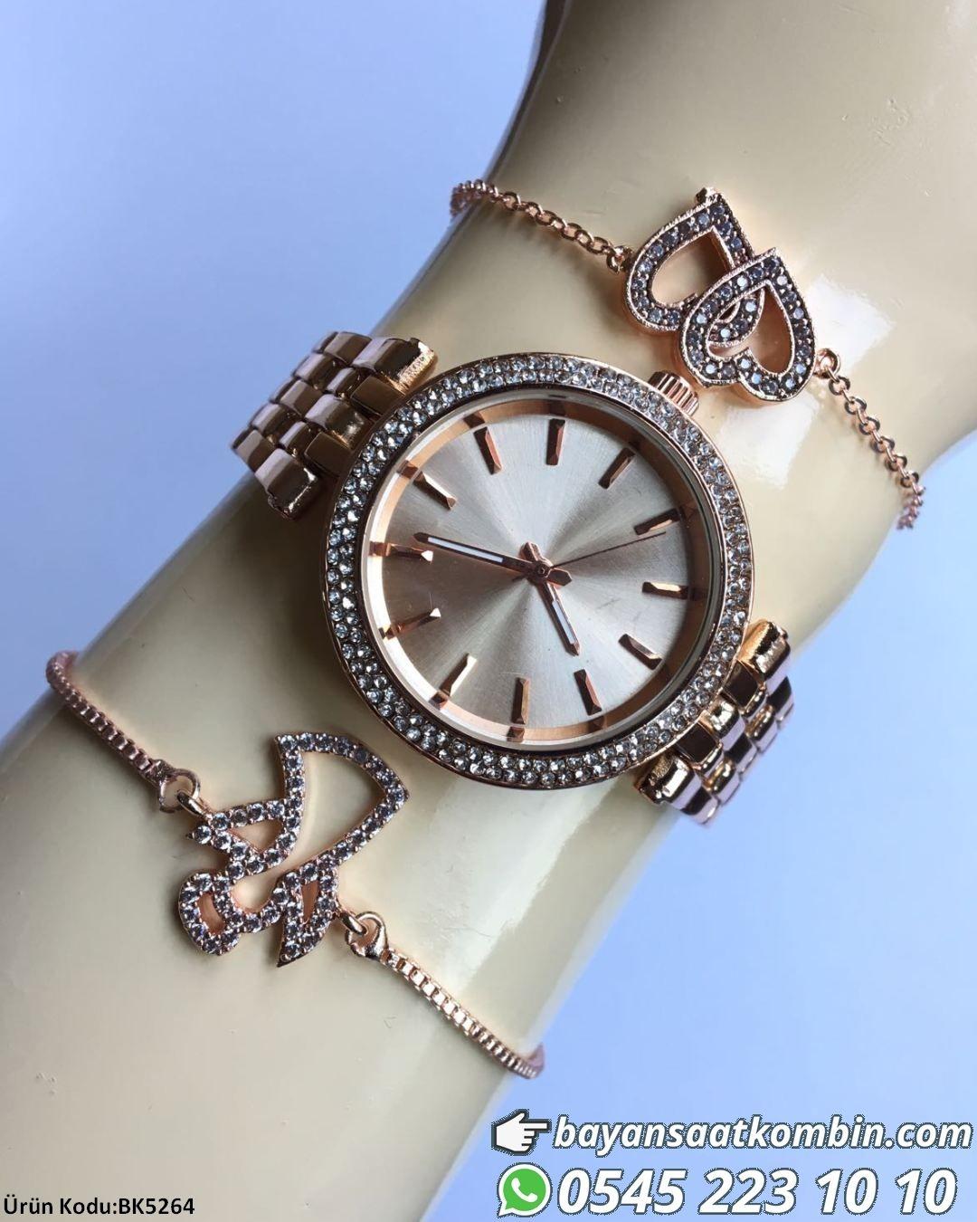 Saat Bileklik Kombini Bileklikler Saat Ile Birlikte Gonderilir Fiyat 49 99 Tl Bankakarti Kredi Kartihavale Eft Watches Women Fashion Accessories Womens Watches