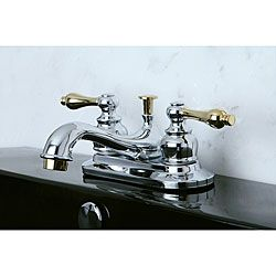 Restoration Clic Chrome And Polished Br Bathroom Faucet