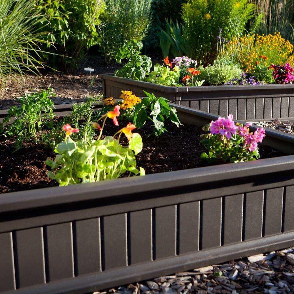 Lifetime Raised Garden Bed Kit Raised garden bed kits