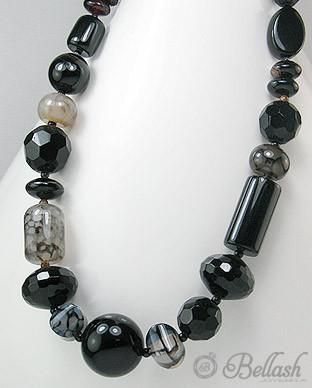 Photo of 51756299 Collar de Onix, Agate, Plata 925, (En oferta)