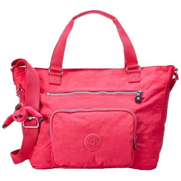Kipling Maxwell Tote (Vibrant Pink) Tote Handbags (6.520 RUB ...