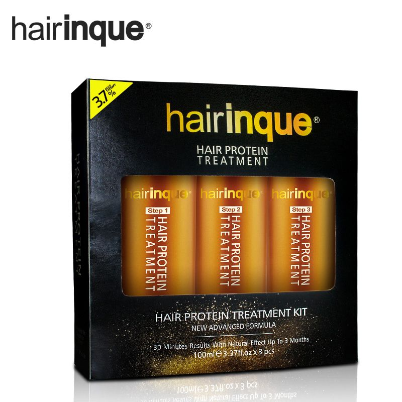 HAIRINQUE 16.16 percent 16K Gold therapy keratin hair treatment hair ...