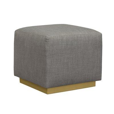 Wondrous Duralee Furniture Trent Cube Ottoman Leg Finish Chablis Ibusinesslaw Wood Chair Design Ideas Ibusinesslaworg