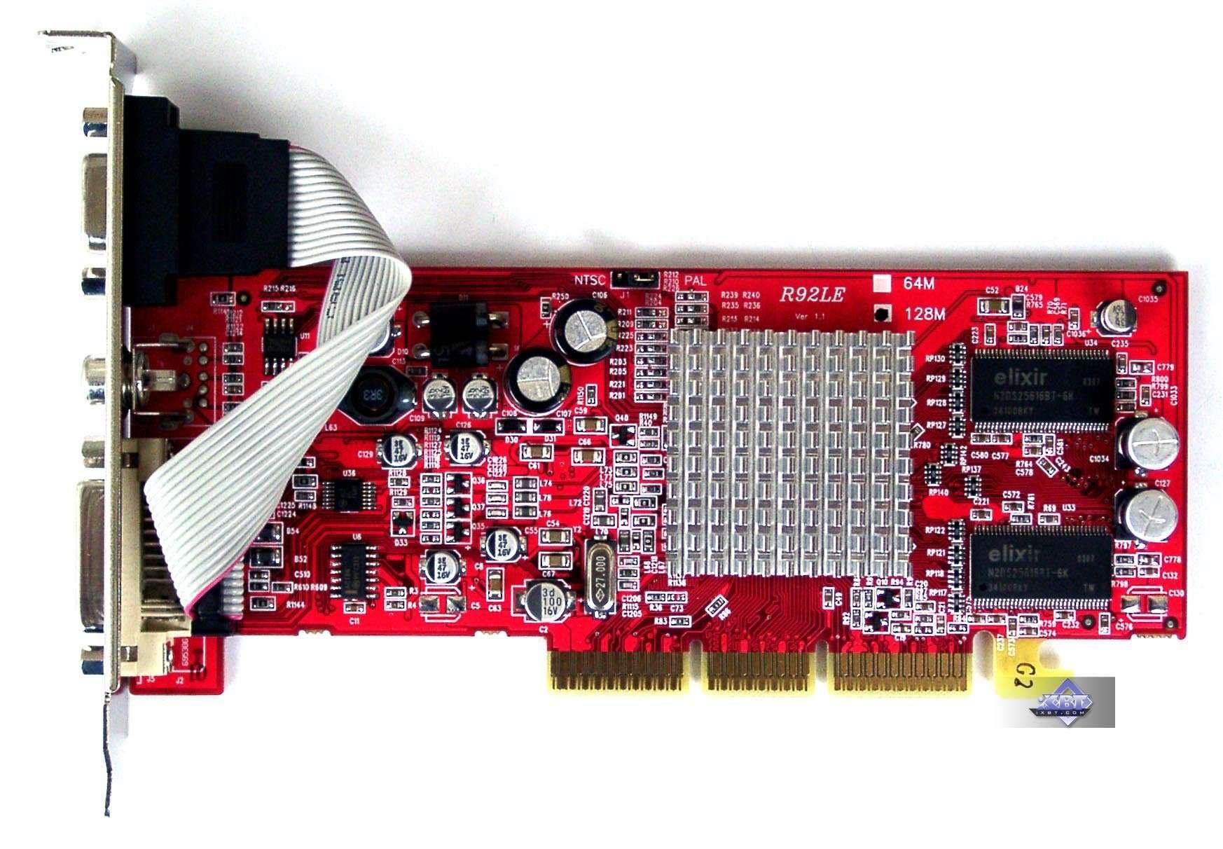 Radeon 9200 series драйвер скачать windows xp