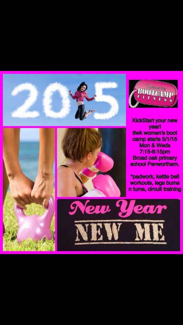 Womens Bootcamp every Monday and Wednesday 7.15 till 8.15 at broadoak primary school #penwortham #preston #newyear