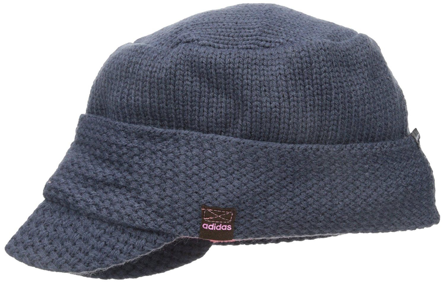 95e207488e7 Climawarm technology on this womens lynx military golf beanie hat by Adidas  helps to provide warmth and comfort during cold weather conditions!