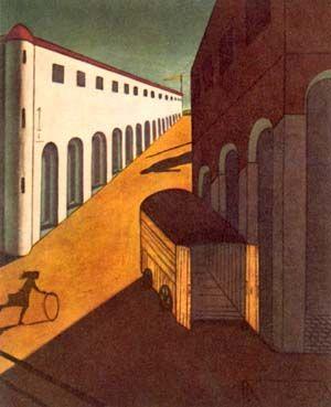 Giorgio De Chirico, Misterio