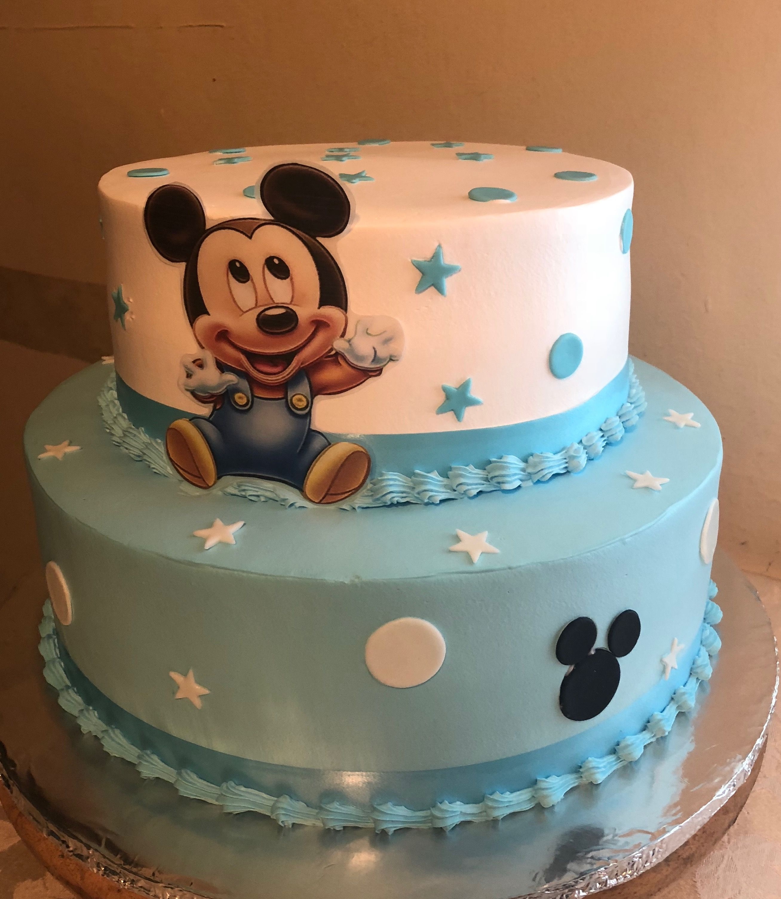 Baby Shower Mickey Mouse Cake Baby Shower Cakes For Boys Mickey