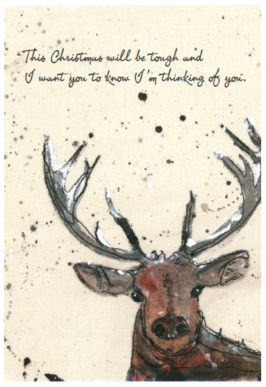 What do you send to a grieving friend or family member at ...  |Christmas Cards For The Grieving