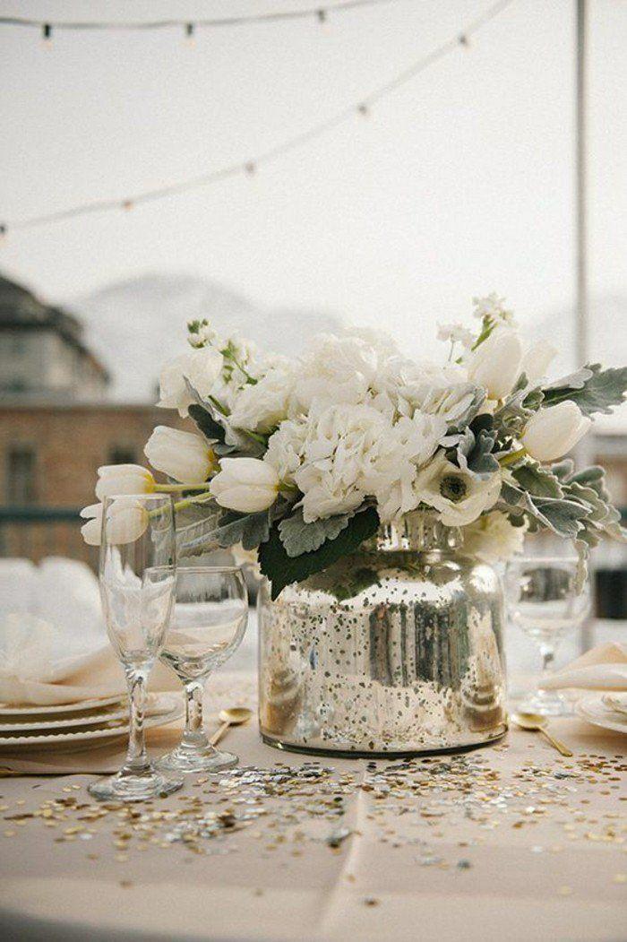 0 Deco De Table Pas Cher Centre Table Mariage Composition Florale Sur La  Table