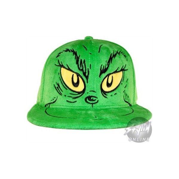 Grinch Hat ($20) found on Polyvore