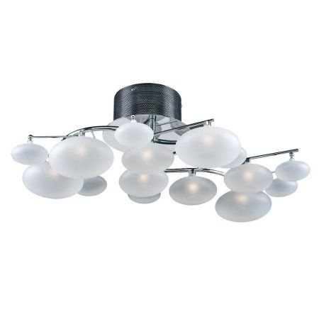 PLC 15 Light Chandelier Swan Collection 96934 PC