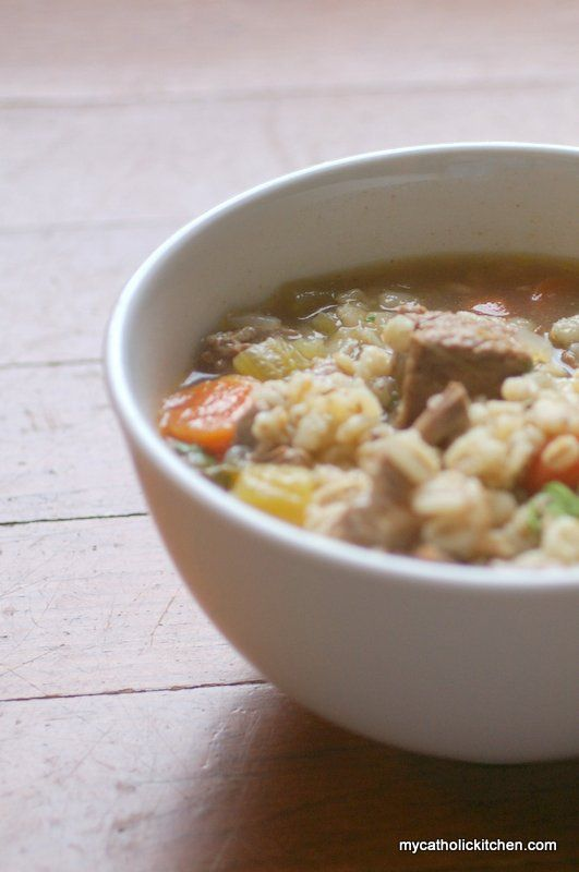 Beef and Barley Soup 010