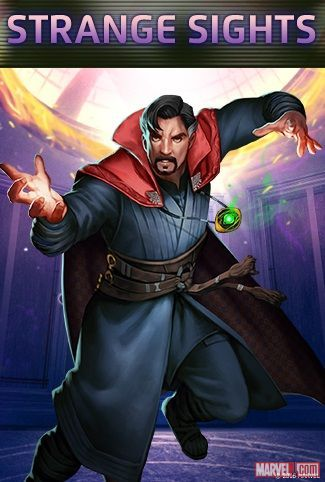 Doctor Strange in Marvel Puzzle Quest