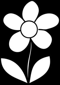 Publicdomainvectors Org Illustration Vectorielle De Grands Petales De Fleurs A Colorier Fleur A Colorier Coloriage Fleur Coloriage Fleur A Imprimer