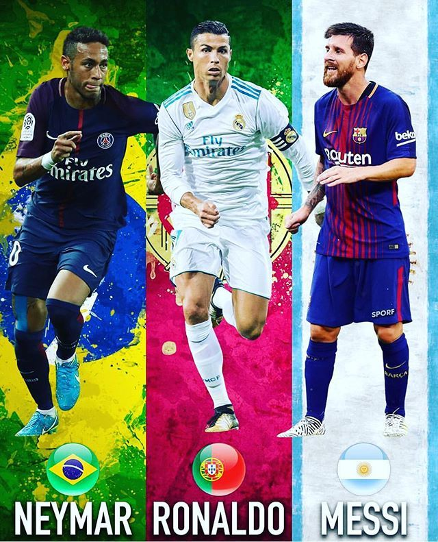 Reposting Footballexperience Tickets Who Will Win The 2017 Ballon D Or Ballondor Neymar Ronaldo Messi Comment Ronaldo Soccer Ronaldo Neymar