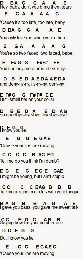 Flute Sheet Music: Lips Are Moving | Flutes Up! | Pinterest | Sheet ...