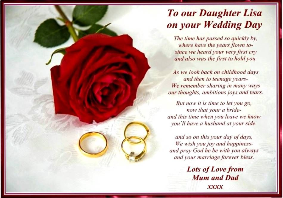 Poem For My Daughter On Her Wedding Day Jubilee Ideas Pinterest