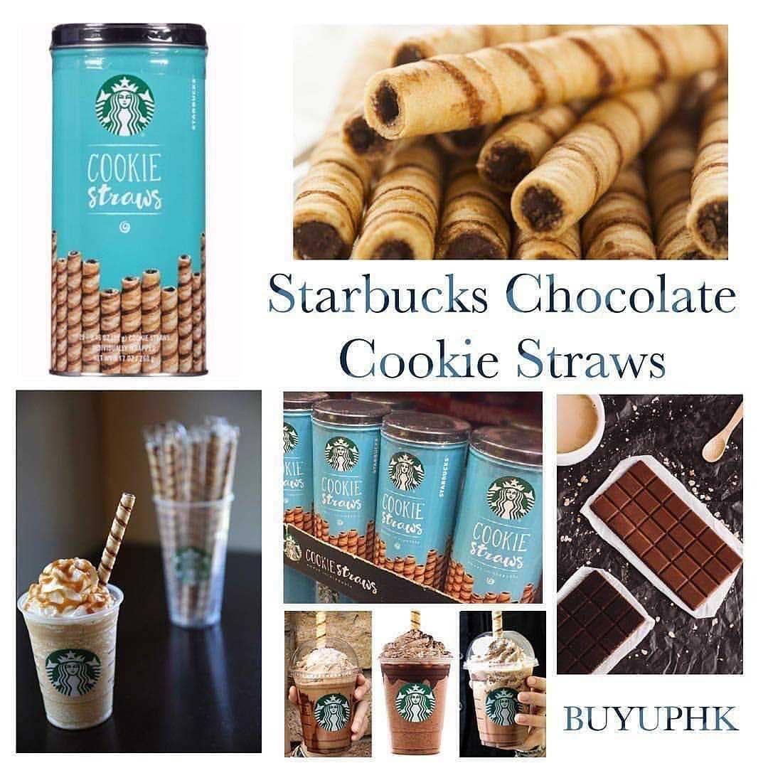 للبيع For Sale أعواد الشوكولاتة اللذيذة Starbucks Cookie Straws وصل الآن والكمية محدودة من الولايات المتحدة الأمريكية كو Mocha Food Instagram Posts